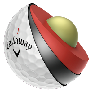 Callaway Chrome Soft Practice